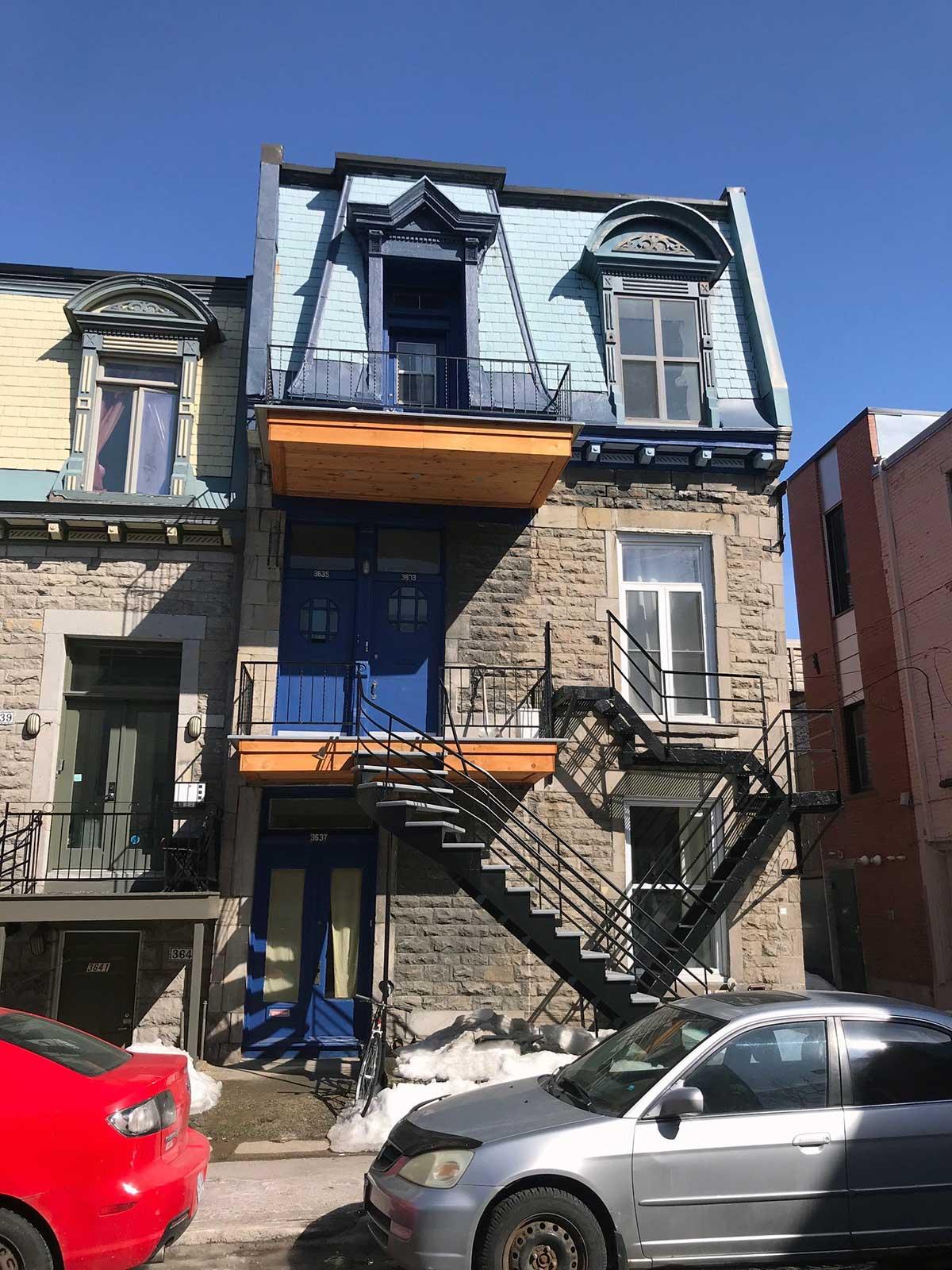 3633-3637 rue Drolet à vendre sur le Plateau Mont-Royal